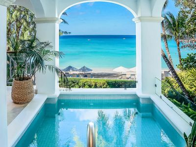 Photo for A Chic and Elegant Three Bedroom Beachfront Apartment