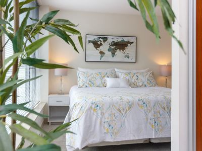 Photo for Pets Welcome! King Suite at The Juliet! Rooftop patio, downtown, sleeps 3!