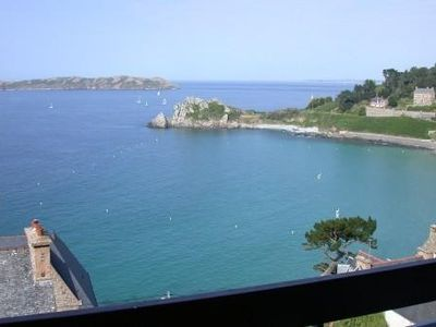 Photo for Exceptional view over the sea in an old hotel converted in a family residence