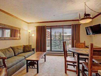 Photo for Ski-in/Ski-out Studio Apartment + Kitchen!| Access to 6 Hot Tubs/Pools