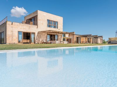 Photo for Air-Conditioned Country House with Pool, Large Garden, Terraces & Wi-Fi; Parking Available, Pets Allowed