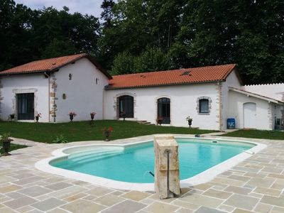 Photo for Bayonne house with pool in park