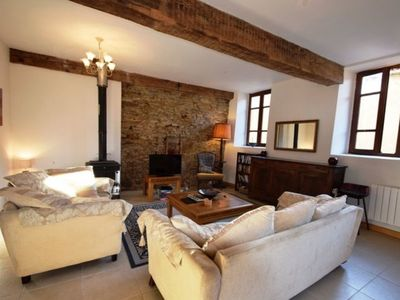Photo for Beautiful, spacious, two-family stone house, 4.5 bathrooms, 4 double bedrooms