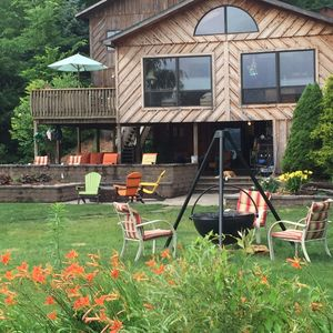 Photo for Private 70ft Lakefront Cabin,3br,3ba,Pet Friendly- Kayaks/Paddle boards provided