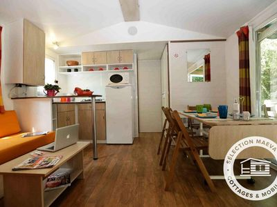 Photo for Camping Les Granges **** - Maeva Camping - Mobile Home Evasion 4 Rooms 6 People