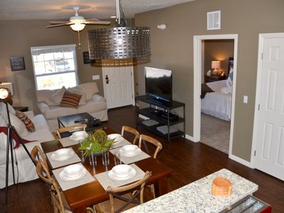 Photo for Modern Bargains - Lucaya Village - Welcome To Relaxing 3 Beds 2 Baths Townhome - 3 Miles To Disney