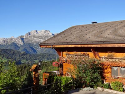Photo for 1BR Chalet Vacation Rental in Manigod