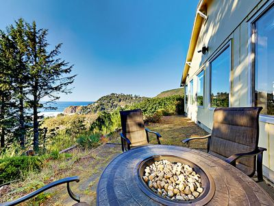 Photo for Updated 2BR Zen Getaway w/ Fire Pit, Stunning Beach Views & Ultimate  Privacy