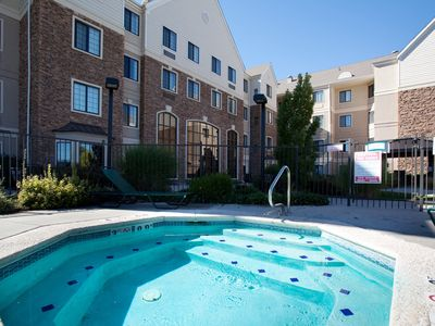 Photo for Equipped Cherry Creek Suite | Outdoor Pool, Shared Hot Tub + Gym Access