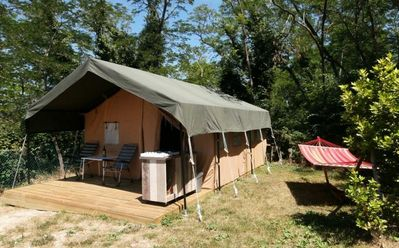 Photo for Camping La Simioune *** - Tent Safari Lodge 3 Rooms 5 Persons Without Bathroom