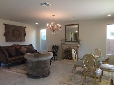 Photo for Brand New Home Overlooking Desert Wash In The Foothills
