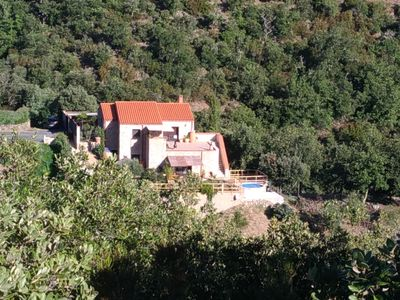 Photo for Gite with pool of 2 bedrooms and 2 bathrooms with sea and countryside views