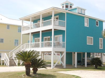 Photo for Hayley is a beautiful Orange Beach House Rental with a gulf view of the beach