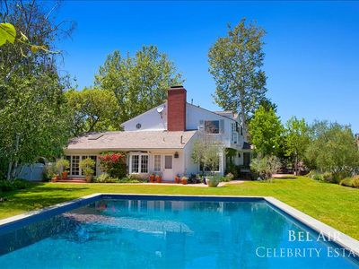 Photo for Beautiful Bel Air Ranch Style House With Pool, Gated, Private