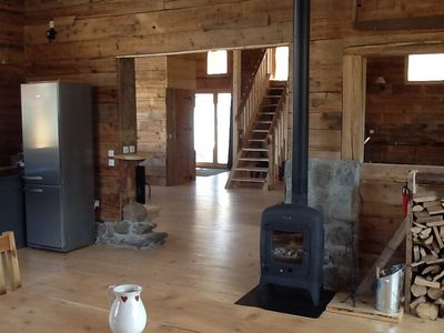 Photo for Chalet / mountain barn in mountain hamlet located 4 kms from the slopes.