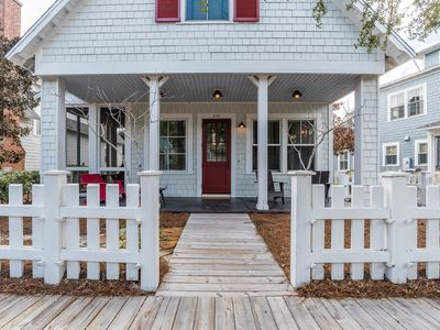 Photo for Executive Access Home! Grill. Screened Porch. 2-5 Blocks from Beach