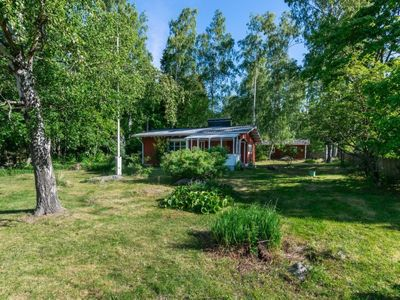 Photo for Vacation home Lampaluodon punainen tupa in Pori - 6 persons, 1 bedrooms