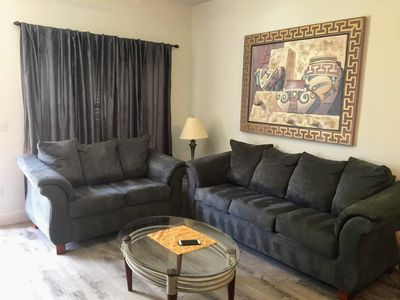 Photo for 3 Bedrooms Townhouse at Villas at Seven Dwarfs only 4 miles from Disney! BL