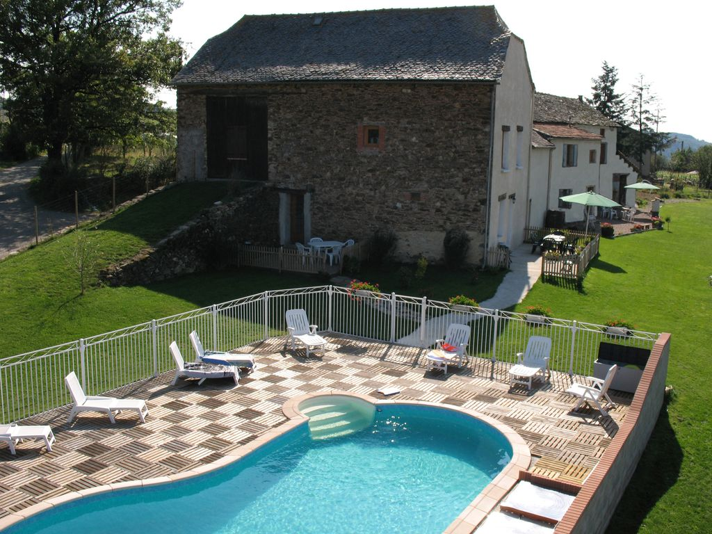 Architecte D Intérieur Aveyron gite helen situated on the tarn/aveyron border, with swimming pool - tanus