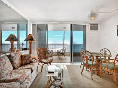 Photo for Kona Reef - 1 Bedroom Oceanfront Suite #A25