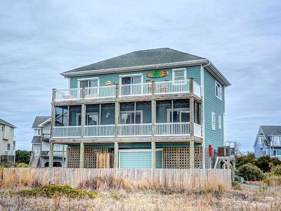 Photo for Perfect Oceanfront Home In North Topsail