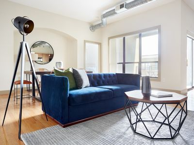 Photo for Sonder | Lofts at the Ballpark | Ideal 2BR + Pool