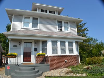 Photo for Large recently updated home - Walk to campus!