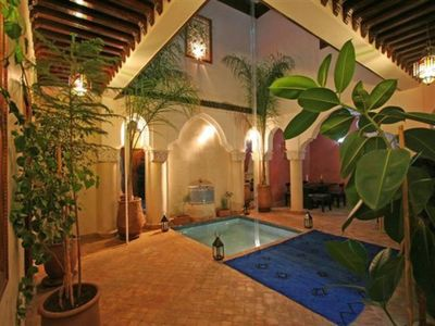 Photo for Quiet and intimate charming Riad ideally located in the district Dar El Bacha