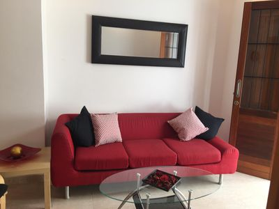Photo for Beautiful apartment in the center of Sitges, 200 meters from the beach.