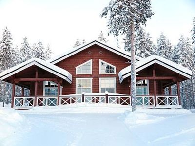 Photo for Vacation home Aurinkovilla b in Kittilä - 6 persons, 3 bedrooms