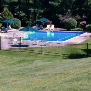 Solar heated pool and changing rooms, rec ful kitchen, ping pong & seating