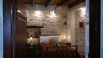 Photo for Traditional stone house in the nature with fireplace ,surrounded by olive trees