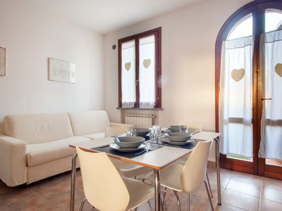 Photo for Leccino - Bright apartment with swimming pool in Suvereto