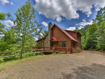 Photo for CABIN TIME - When you need to relax and unwind a visit to Cabin Time is what you need!