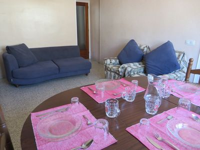 Photo for Apartment located 300m from the beach. Apartaments F.Macia 56 Roses. Free WIFI