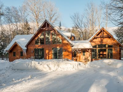 Photo for NEW LISTING! Stunning, spacious home w/ hot tub-near Sunday River