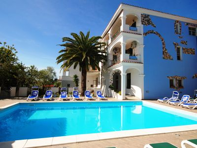 Photo for With views of the pool and exotic garden, 1,5km from the sandy beach