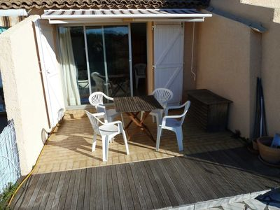 Photo for Nice T2 with terrace, sea view