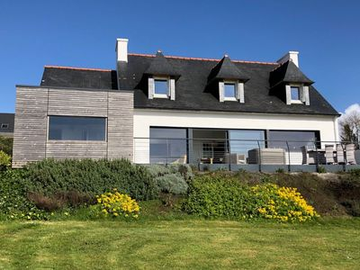 Photo for Villa KERLE, 8 people, panoramic sea view