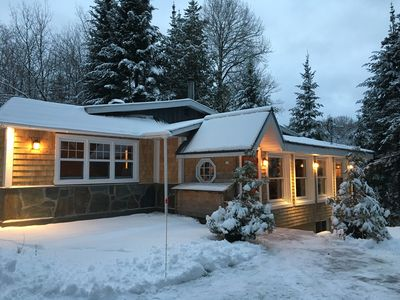 Photo for Exceptional Chalet, Lake and Mountain, Laurentians