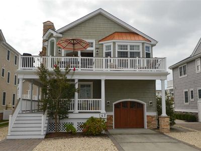 Photo for Enjoy your Avalon vacation in this sunny 5 bedroom, 4 1/2 bathroom upside-down style home