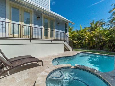 Photo for Seahorse Cottage: Private Heated Pool, Hot Tub! Immaculate Villa Built in 2016!!