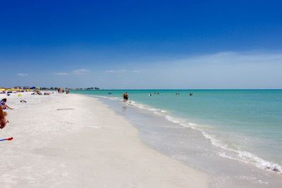 White sand beach and turquoise water - what else you will need for the perfect vacation?
