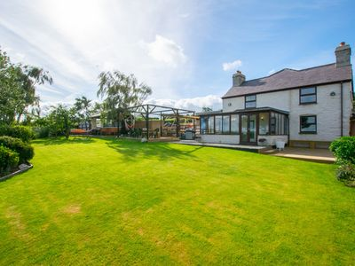 Photo for This North Wales farmhouse offers the ultimate destination for your next get-together. Beautiful, se