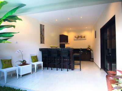 Photo for Peaceful Two Bedroom Villa near Seminyak