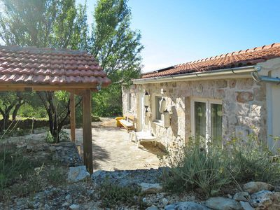 Photo for Vacation home Ivancica  in Tisno, Dalmatia - 5 persons, 2 bedrooms