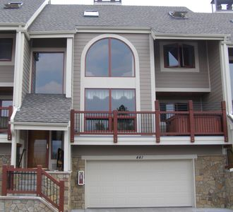 Front of Townhome