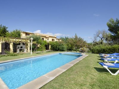 Photo for Pollenca Villa, Sleeps 4 with Pool, Air Con and WiFi