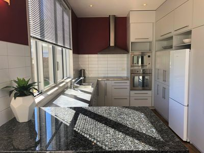 Well-equipped modern kitchen