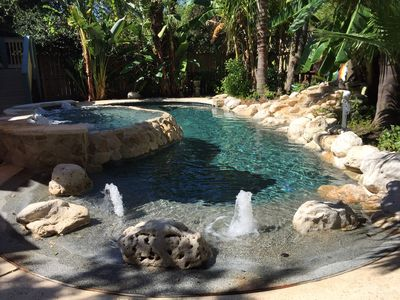 Photo for Relax In your Private Lagoon, Galveston's Best Backyard!
